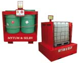 liquid station containers