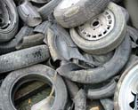 tyre waste